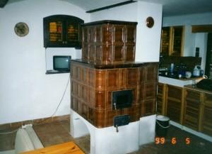 kachlové pokojové kamna